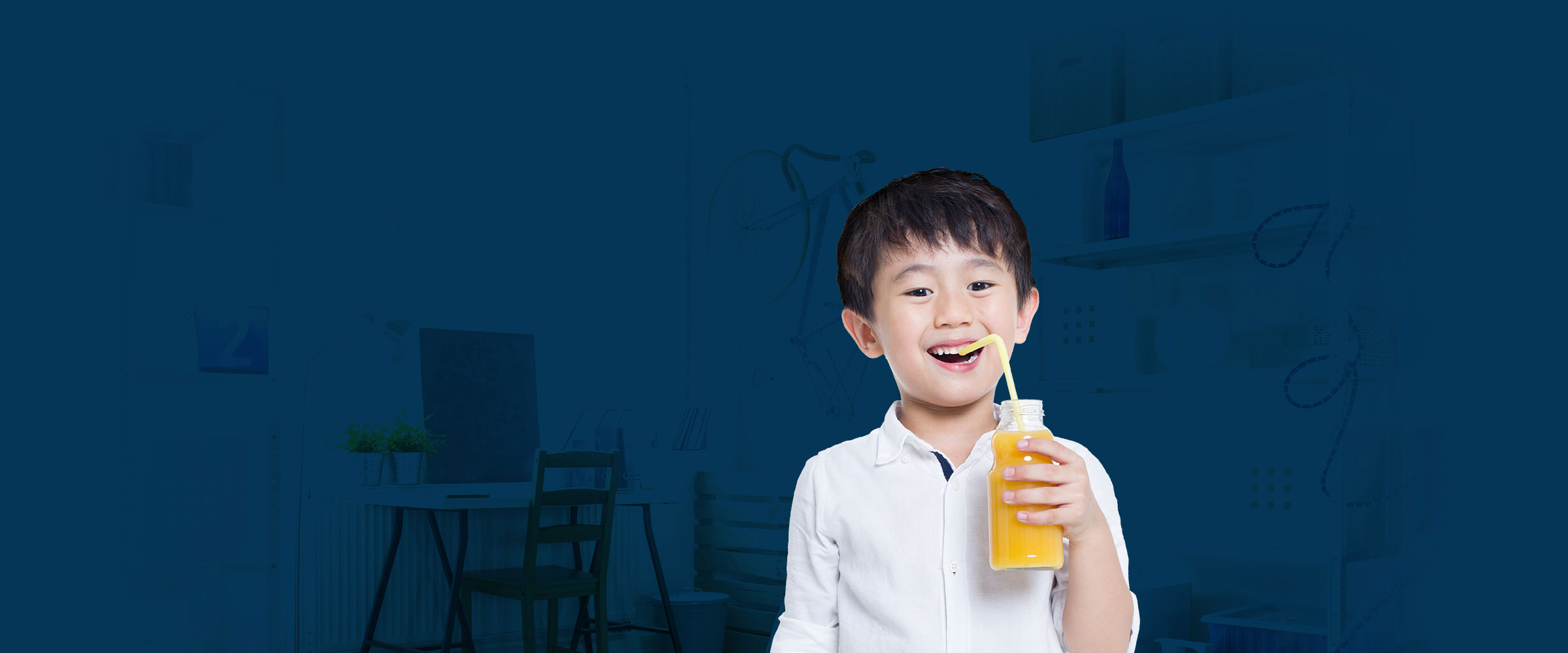 Boy-with-juice-drink